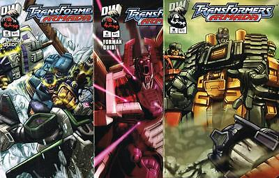 3 issues of Transformers Armada - Issue # 10, 11, 12 - Dreamwave - NM (1448)
