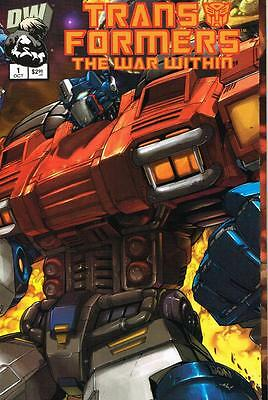 Transformers The War Within - Issue # 1 - Dreamwave - 2002 - NM (1454)