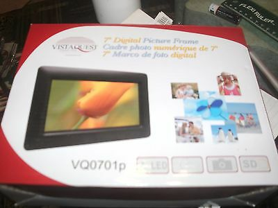 Vistaquest Digital Picture Frame 7 Inch