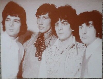 """""""Pink Floyd"""" Group Shot in their younger days Sepia Poster"""