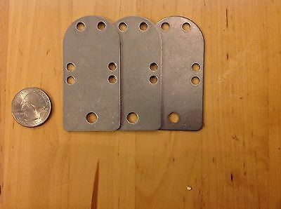 "25 Lamellar Armor ""A"" plates 18g Stainless Steel for SCA,LARP,Cosplay,Dagorhir"