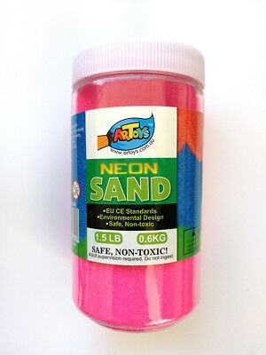 Pink Colour Sand 600g Great for School & Home & Party Craft Sand Art