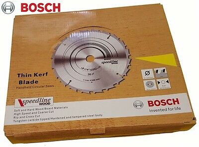 "Bosch Circular Saw Blades 235mm (9-1/4"") 20 Teeth Wood 10 Pack #2608640891"