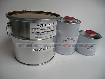2,5 L Set Basislack VW LC4V Dark Violett Golf Fire & Ice + Klarlack Lackpoint