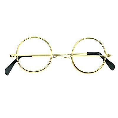 Wizard Spectacle Book Week Harry Round Frame Glasses Adult Girl Boys Fancy Dress