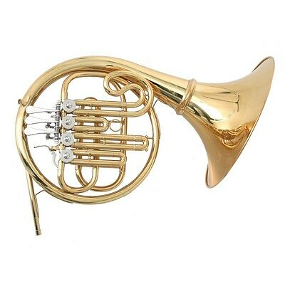 SOUNDSATION SCF-10G Bb French Horn with 4 rotary valves