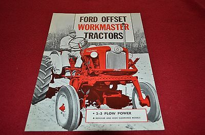 Ford 541 Offset Tractor Dealer's Brochure DCPA4
