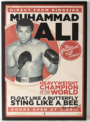A3 Size - Muhammed Ali Vintage Boxing wall Poster Print Art - #02