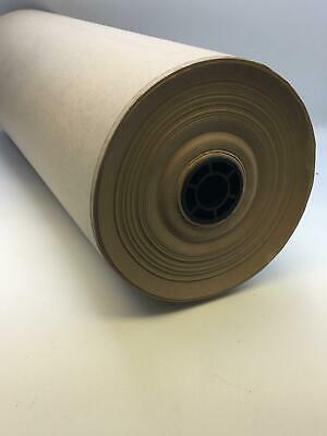 "2 x Brown Paint Masking Paper Roll 18"" 450mm 50gsm GUARANTEED 200 METRE"