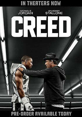CREED (2016 Sylvester Stallone)  -    Region 1 -  DVD - Sealed