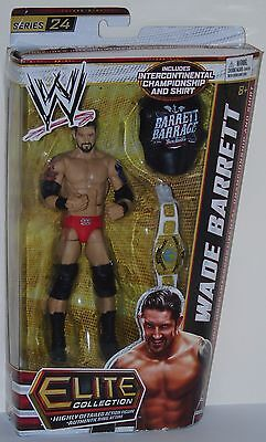 Wade Barrett Wwe Figure With Belt Mattel Elite Series 24 Wrestling