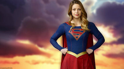 Super Girl 8X10 hands on hips pose