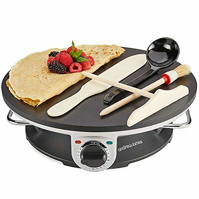 Professional Crepe Maker Electric Cook Kitchen Appliance Party Hotel Machine
