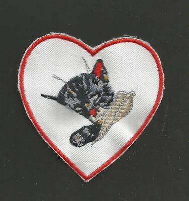 """Chessie System Railroad Patch 3 """"   * Heart Cat"""