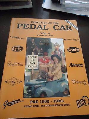 Evolution of the Pedal Car -Vol. 4 1900-1990 With Price Guide- 1997- Scarce