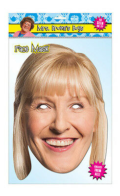 Cathy Brown Official Mrs Brown's Boys 2D Card Party Face Mask Fancy Dress Up