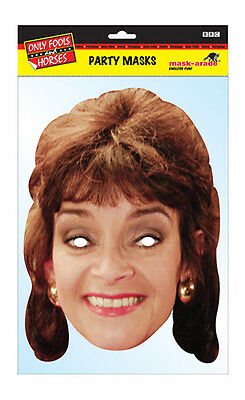 Marlene Official Only Fools and Horses 2D Card Party Face Mask Fancy Dress Up