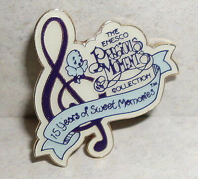 The Enesco Precious Moments Collection Pin 15 Years of Sweet Memories 1993
