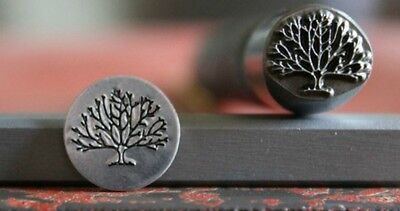 """SUPPLY GUY 3/8""""1/2""""or 5/8"""" Advantage Series Tree of Life Metal Design Stamp AD24"""
