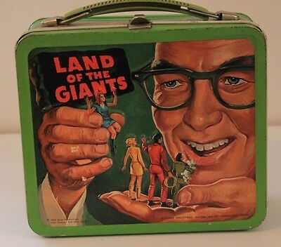 Vintage Lunchbox 1969 Land Of The Giants In Excellent Condition