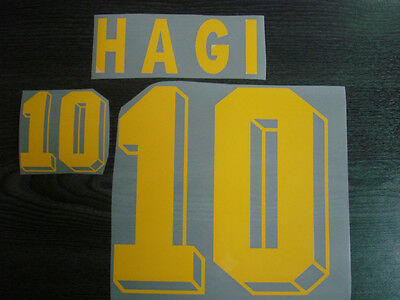HAGI #10 Romania Away EURO 1996 Polyflex Name Number