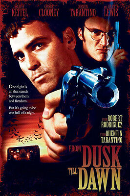 -A3- From Dusk Till Dawn MOVIE Film Cinema wall Home Posters Print Art - #21