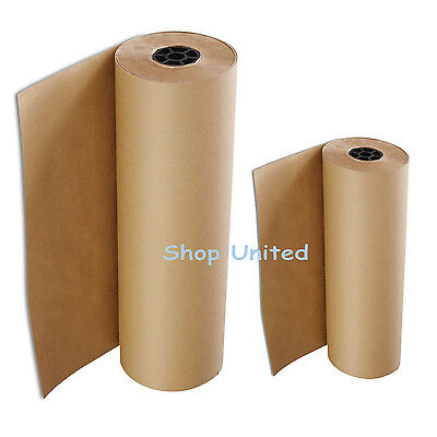 Heavy Duty Thick Brown Kraft Wrapping Paper - FREE P&P