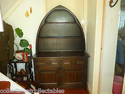 Vintage Arched Welsh  Dresser with lovely arched top open display area