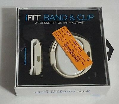 New White ICON Heath & Finess iFIT Band & Clip Accessory For iFIT Active #14513