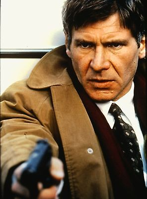 "HARRISON FORD in ""Patriot Games"" - Original 35mm COLOR Slide - 1992"