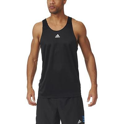 NEW adidas, adidas Men's Response Singlet, in Black