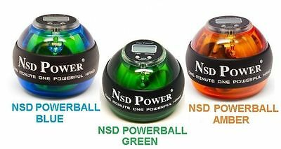 Nsd Powerball Pocket Gym Cricket Champion Gyro Ball Gyroscope