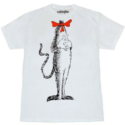 Dr Seuss The Cat In Hat Costume T Shirt
