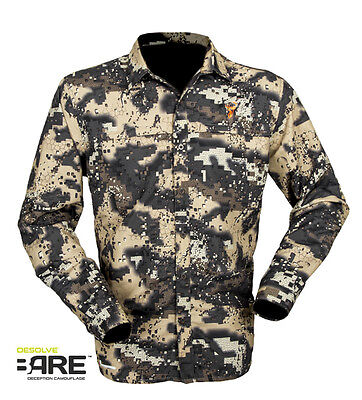Hunters Element Super Lite Hunting Shirt Desolve Bare Camo