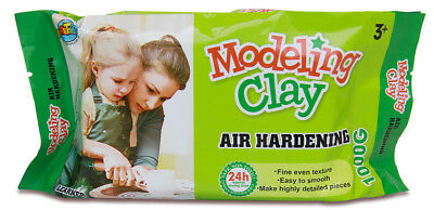 Air Hardening Modelling Clay 1KG AIR DRY CLAY White for Art Learner Craft Supply