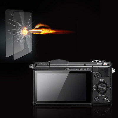 Premium Tempered Glass Camera Screen HD Protector for Sony A3000/A5000/A6000 US