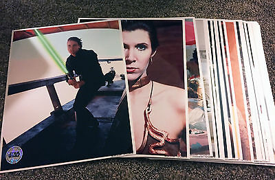 Star Wars Celebration 7 Official Pix Metallix Photo Set of 34 - Hamill Fisher ++