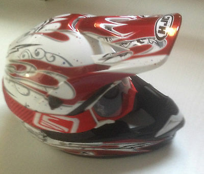 Casque moto cross  taille S comme neuf