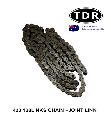 420 128 Links KMC Chain Dirt Bike Honda CRF50 CRF70 CRF80 CRF110 CR80 Z50 XR50