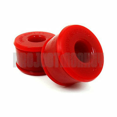 Energy Suspension 16.7106R Rear Trailing Arm Polyurethane Bushings Red