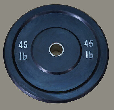 TDS Fitness Rubber Bumper Plates 45 lb. (Sold as pair)