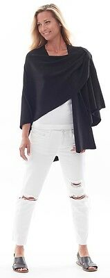 New With Tags  Parkhurst  Covi Wrap with Loop Cotton Blend 1size 22081