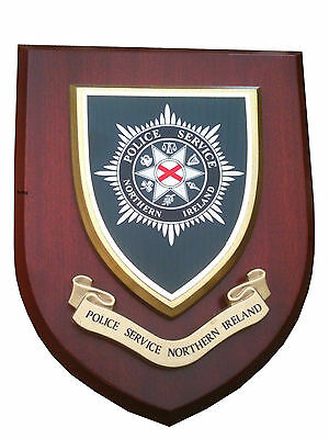 PSNI Police Service Northern Ireland Constabulary Regimental Wall Plaque Shield