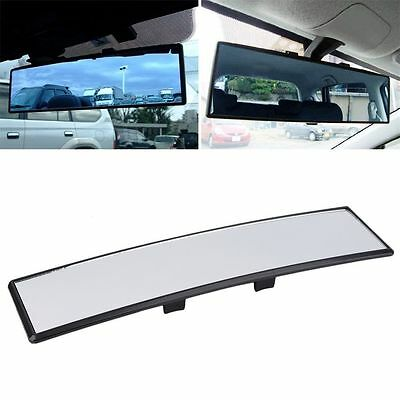 Universal Practical Wide Anti-Glare Flat Clip On Rear View Mirror @S