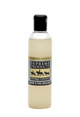 Supreme Products Mane and Tail Builder promotes hair growth and thickens