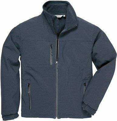 Portwest TK50NARM Soft Shell Medium Jacket - Navy