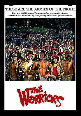 -A3- THE WARRIORS 1979 MOVIE Film Cinema wall Home Posters Print Art - #21