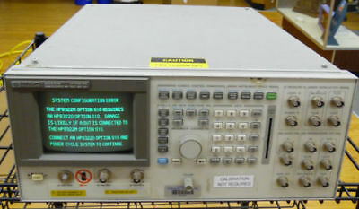 HP 8922M GSM DCS PCS MS Mobile Cell Phone Call Test Set Station w/ Option 010