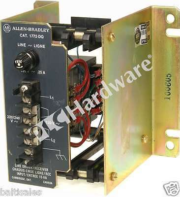 Allen Bradley 1772-DQ /A Line Driver / Receiver Chassis