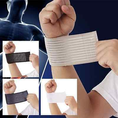 New Fitness Cotton Strength Bandage Hand Wrist Straps Sports Wristbands Support